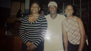 TBT: Joyo, Julius Agwu and Iyeba back at one of his shows in 2000