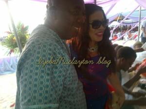 With Monalisa Chinda