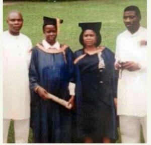 R-L President Goodluck,  Patience Jonathan,  Friends